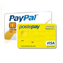Carta Posta Pay e Paypal