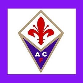 Fiorentina; pulsante viola;