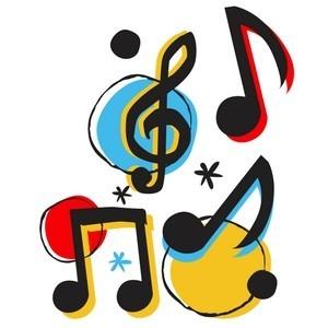 Note Musicali; disegno;